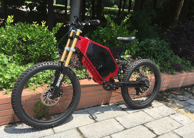 High Strength Electric Assist Mountain Bike Motorized Full Suspension Mountain Bike