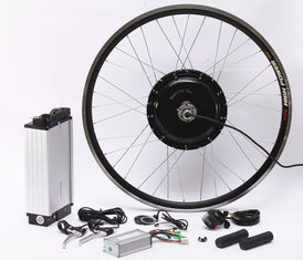 China Fat Tire Electric Bicycle Hub Conversion Kit 20Ah High Capacity Lithium Battery supplier