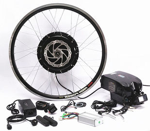 750w 1000w Front Wheel Electric Bicycle Motor Conversion Kit With Downtube Battery