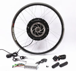 Front Rear Wheel Electric Bike Conversion Kit With PAS Twist Or Thumb Throttle