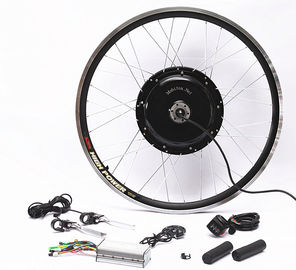 China 48v 1000w Electric Mountain Bike Conversion Kit Front Or Rear Wheel With Disc Brakes supplier