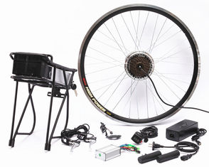 Portable Lightweight Electric Bike Conversion Kit Safety Large Power Reserve