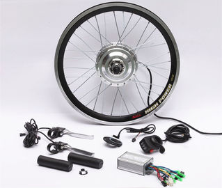 "26"" Alloy Rim Off Road Electric Bike Conversion Kit With Bottle Type Lithium Battery"