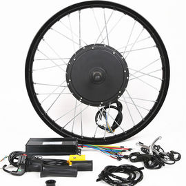 China 1500W 26 Inch Electric Bike Conversion Kit Front Wheel Entry Level Enough Power supplier