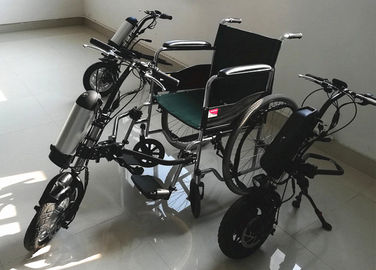 Portable Electric Wheelchair Conversion Kit Maneuverable Easy Steering