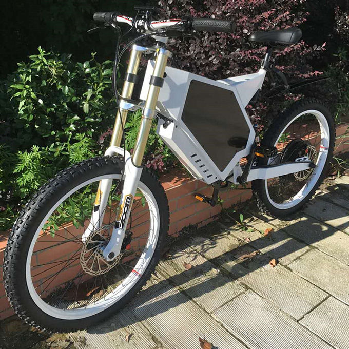 Safety Specialised Electric Mountain Bike Front And Rear Suspension Fork