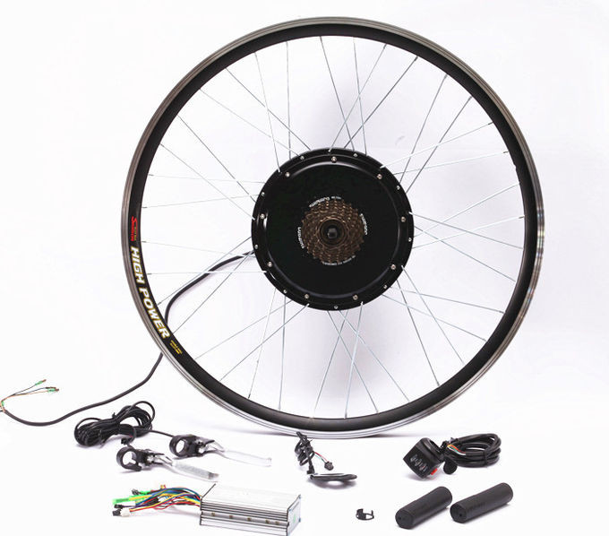 Optional Electric Bicycle Front Hub Conversion Kit 55-65km / Hour Full Speed