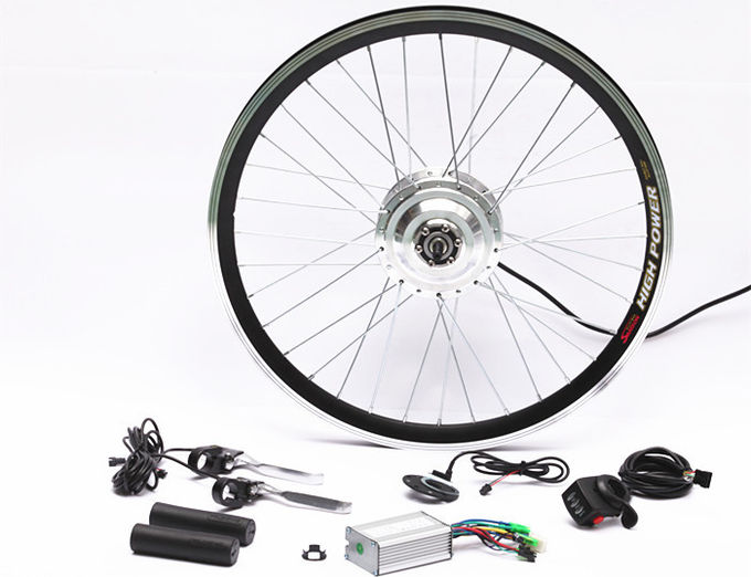 7 Speed Rear Wheel Electric Road Bike Conversion Kit Complete 26 Inch 24v 250w