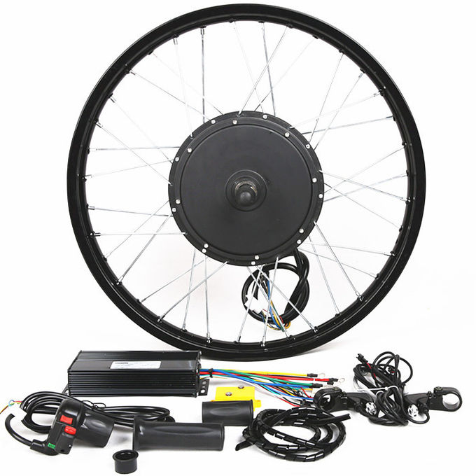 Complete Front Wheel Ebike Conversion Kit E Bicycle Conversion Kit Anti - Corrosion Motor